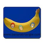 Mousepad featuring Banana Triangle cast