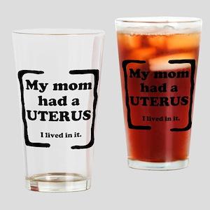 Uterus Drinking Glass