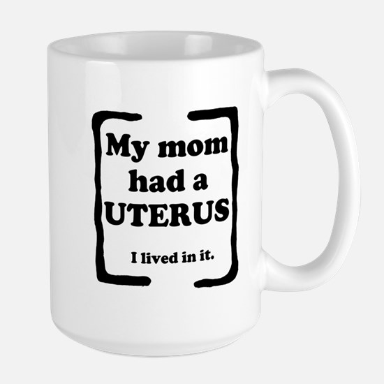 Uterus Large Mug