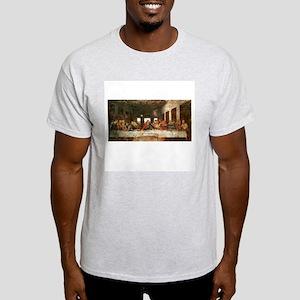 The Last Supper Ash Grey T-Shirt