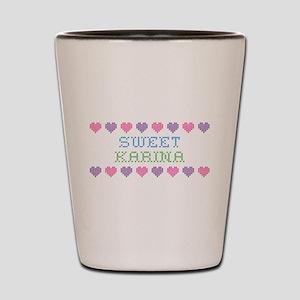 Sweet KARINA Shot Glass