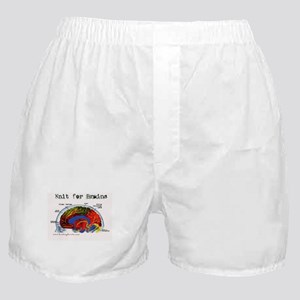 Knit For Brains Boxer Shorts