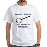 accordion kindling White T-Shirt