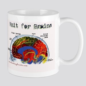 Knit For Brains Mug