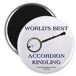 accordion kindling Magnet