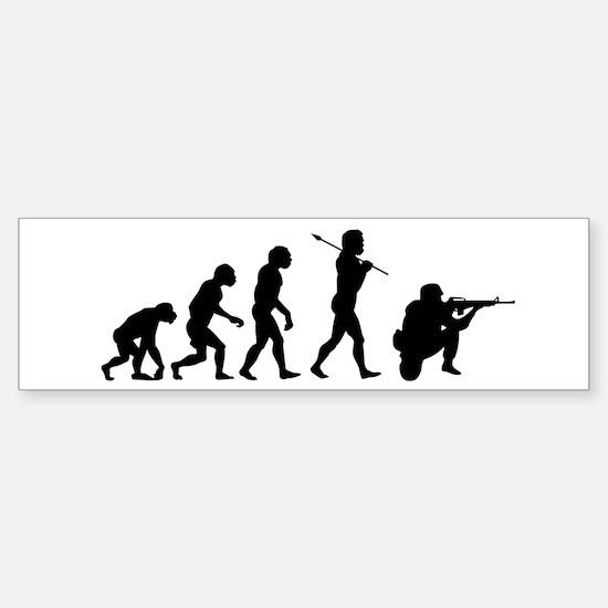 END WAR, Soldier Evolution Sticker (Bumper)