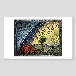 Flammarion Rectangle Sticker
