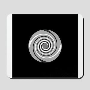 Spiral Pattern Mousepad