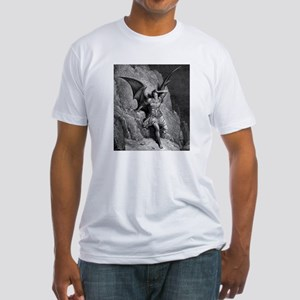 Satan Fitted T-Shirt