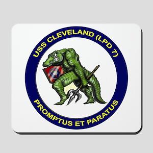 USS Cleveland LPD 7 Mousepad