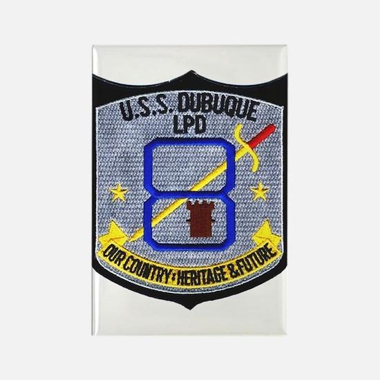 USS Dubuque LPD 8 Rectangle Magnet