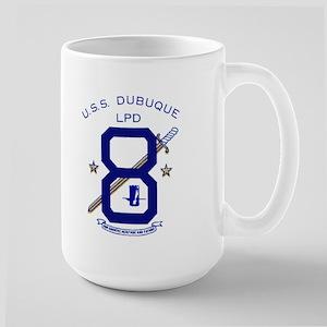 USS Dubuque LPD 8 Large Mug