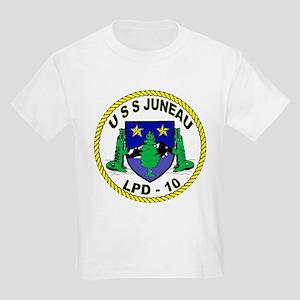 USS Juneau LPD 10 Kids T-Shirt