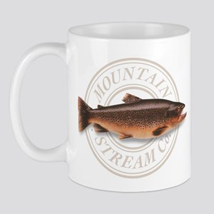 The Mountain Stream Co trout mug
