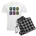 Pop Art Pysanka Men's Light Pajamas