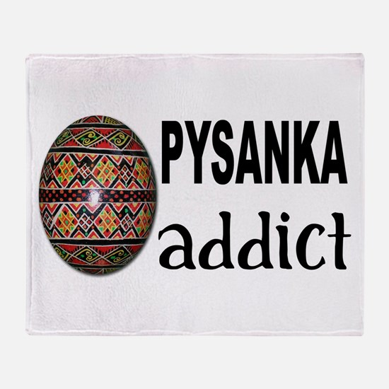 Pysanka Addict Throw Blanket