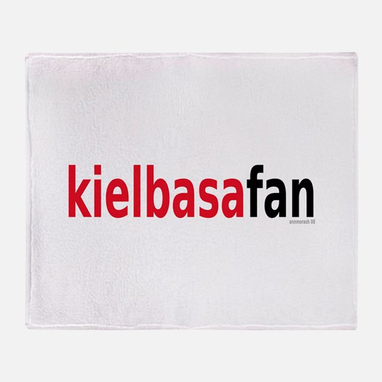 KielbasaFan Throw Blanket