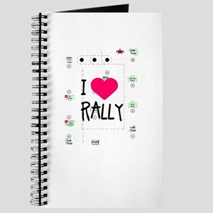I <3 Rally Course Journal