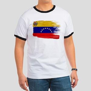 Venezuela Flag Ringer T
