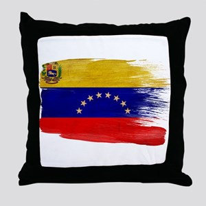 Venezuela Flag Throw Pillow