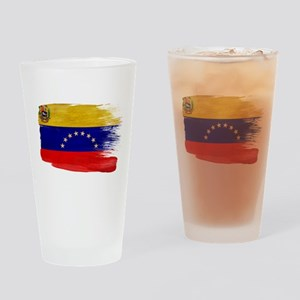 Venezuela Flag Drinking Glass
