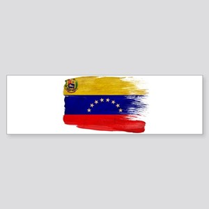 Venezuela Flag Sticker (Bumper)
