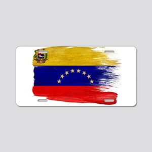 Venezuela Flag Aluminum License Plate