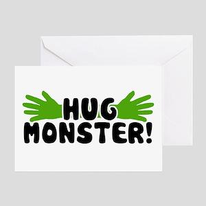 'Hug Monster' Greeting Card