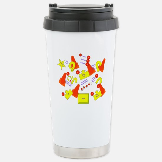 Lots of Signs Stainless Steel Travel Mug