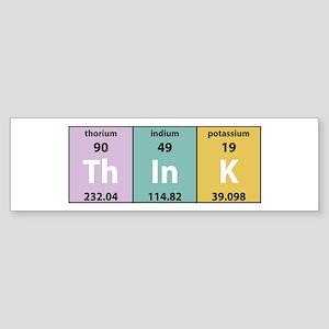 Chemical Think Bumper Sticker