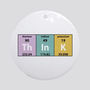 Chemical Think Ornament (Round)