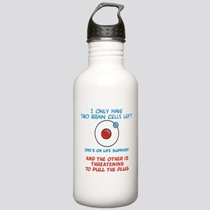 Two Brain Cells Stainless Water Bottle 1.0L