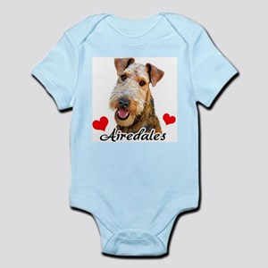 Love Airedales Infant Bodysuit