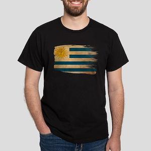 Uruguay Flag Dark T-Shirt