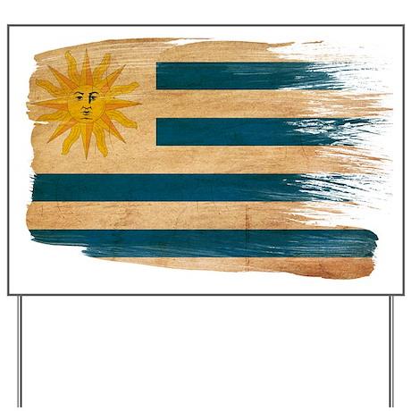 Uruguay Flag Yard Sign