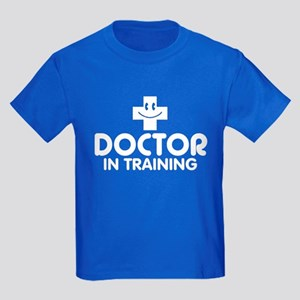 Doctor In Training Kids Dark T-Shirt