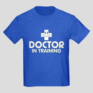 Doctor In Training Kids Dark T-Shirt