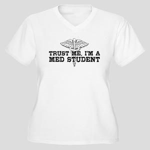 Med Student Women's Plus Size V-Neck T-Shirt