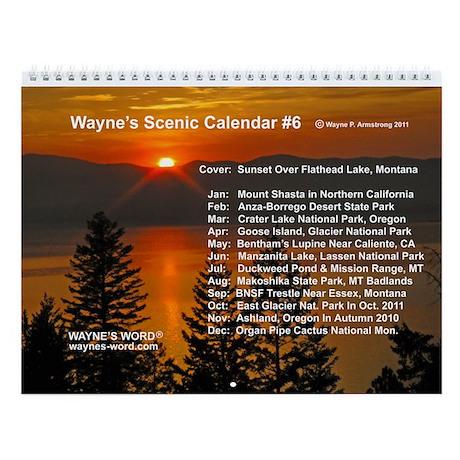Wayne State Calendar.Wall Calendar Wayne S Word On Line Store 5