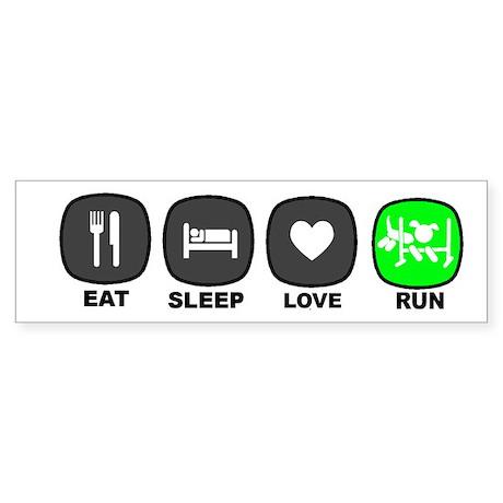 Eat. Sleep. Agility Sticker (Bumper)
