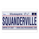 Squanderville Postcards (Package of 8)