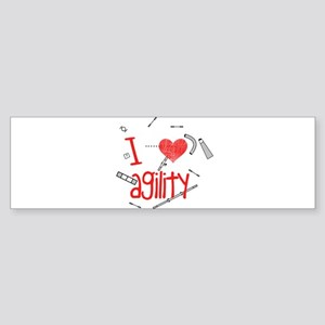 Agility Courses Sticker (Bumper)