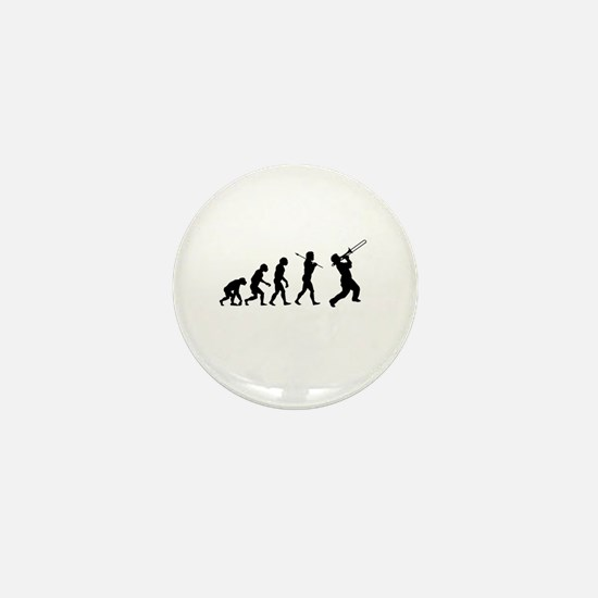 Evolve - Trombone Mini Button