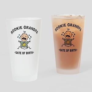 Funny New Grandpa Personalized Drinking Glass