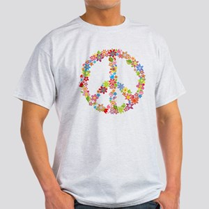 Peace Sign Flowers T-Shirt