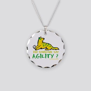 Did someone say Agility Necklace Circle Charm