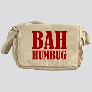Bah Humbug Messenger Bag