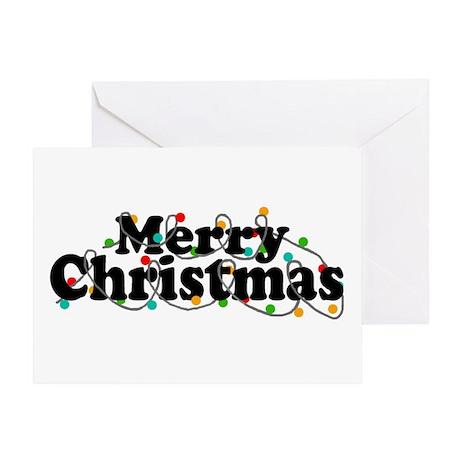 'Merry Christmas' Greeting Card