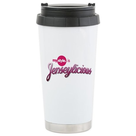 Jerseylicious - Stainless Steel Travel Mug