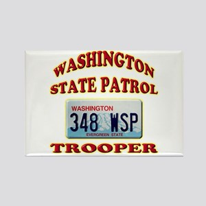Washington State Patrol Rectangle Magnet